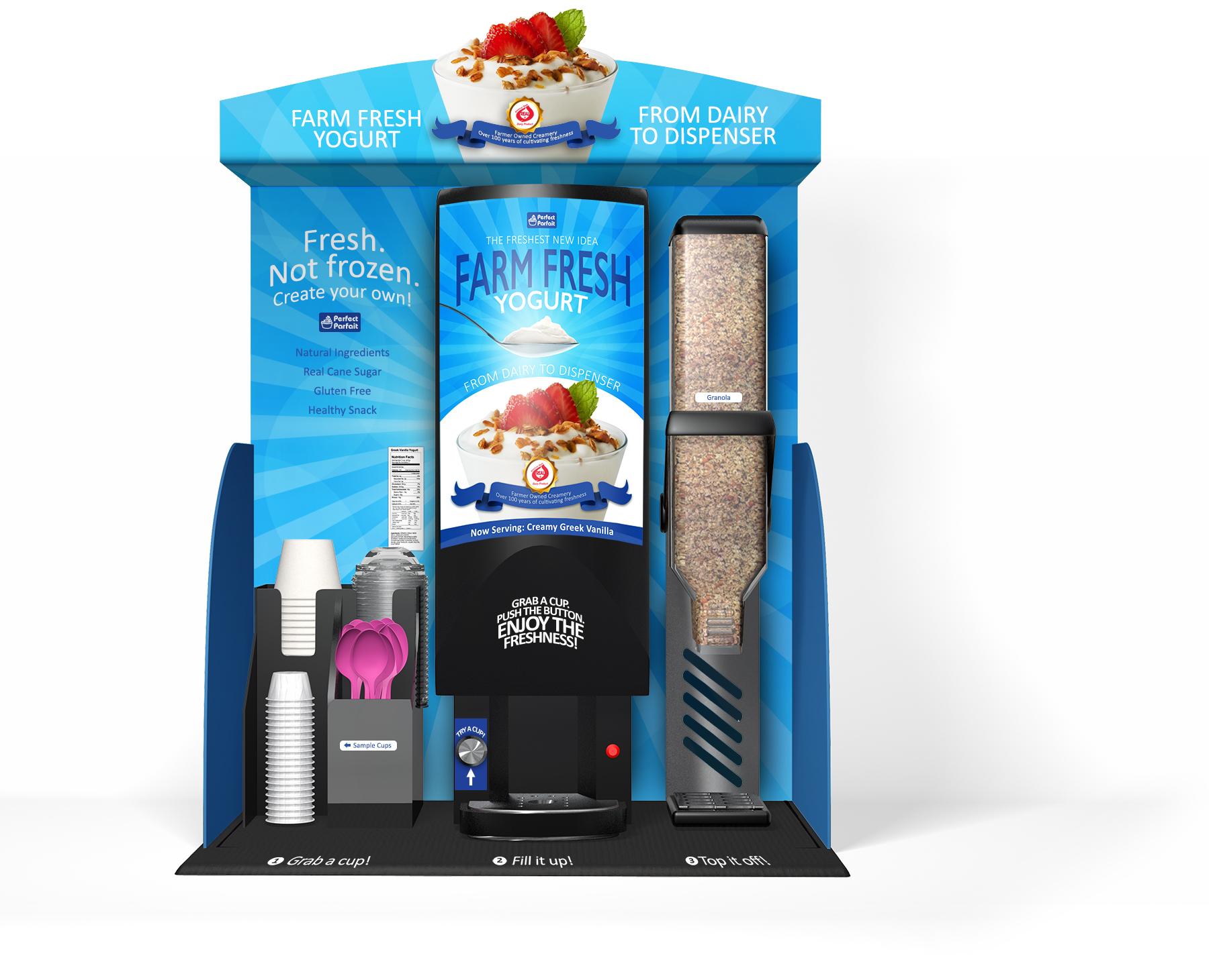 Perfect Parfait Dispenser Kiosk